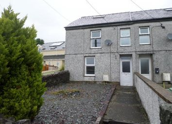Thumbnail 3 bed end terrace house to rent in 1, Nantlle Road, Talysarn