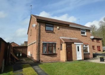 Thumbnail 3 bed semi-detached house for sale in Hewes Close, Glen Parva, Leicester
