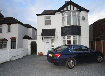 Thumbnail 3 bed detached house for sale in Manchester Road, Lostock Gralam, Northwich