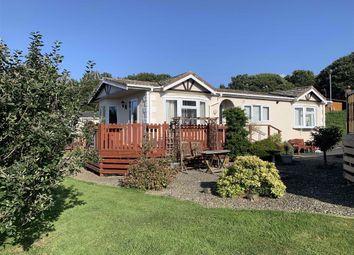 Thumbnail 3 bed mobile/park home for sale in Schooner Park, New Quay, Ceredigion