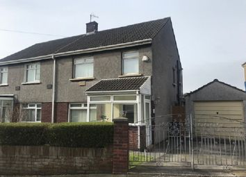 Thumbnail 3 bed semi-detached house for sale in Ty Groes Drive, Margam, Port Talbot, Neath Port Talbot.