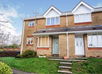 Thumbnail 1 bed end terrace house for sale in Barnum Court, Swindon