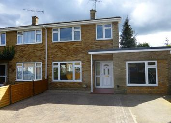 Thumbnail 4 bed semi-detached house to rent in Mendip Road, Farnborough