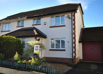 Thumbnail 3 bed semi-detached house for sale in Cedar Grove, Roundswell, Barnstaple