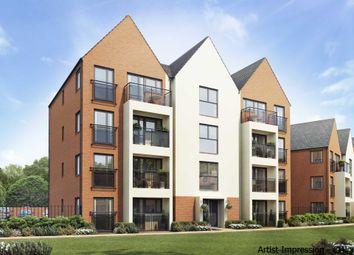 Thumbnail 2 bedroom flat for sale in Carters Lane, Kiln Farm, Milton Keynes