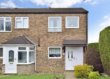 Thumbnail 3 bedroom end terrace house for sale in Thistledown, Gravesend, Kent