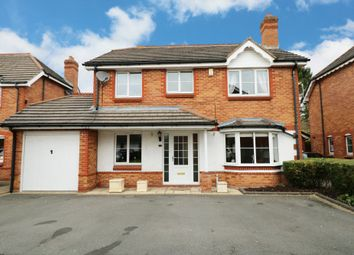 Thumbnail 4 bed detached house for sale in Church Close, Wythall, Birmingham