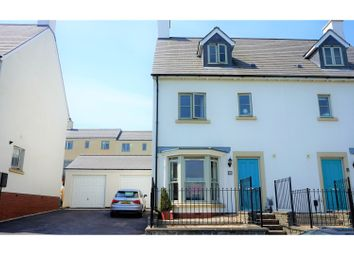 Thumbnail 4 bed town house for sale in Heathland Way, Coed Darcy, Skewen