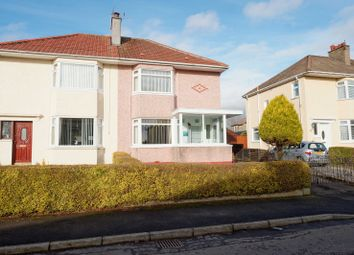 Thumbnail 3 bed semi-detached house for sale in Rosedale Drive, Baillieston, Glasgow
