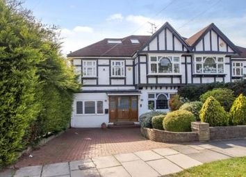 Thumbnail 5 bed semi-detached house for sale in Deansway, East Finchley, London
