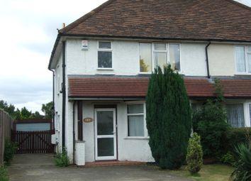 Thumbnail 3 bedroom semi-detached house to rent in Baldock Road, Letchworth Garden City