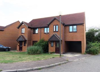 Thumbnail 4 bed semi-detached house to rent in Bergamot Gardens, Walnut Tree, Milton Keynes