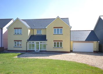 Thumbnail 5 bed detached house for sale in Bowls Road, Blaenporth, Cardigan
