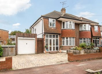 Thumbnail 3 bed semi-detached house for sale in Beverley Avenue, London