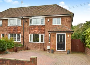 Thumbnail 3 bed semi-detached house for sale in Ridgeway Road, Brogborough, Bedford