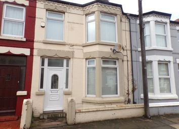 Thumbnail 3 bed terraced house for sale in Monville Road, ., Liverpool, Merseyside