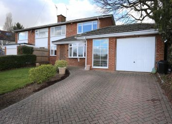 Thumbnail 3 bed semi-detached house for sale in Rivermead Road, Woodley, Reading