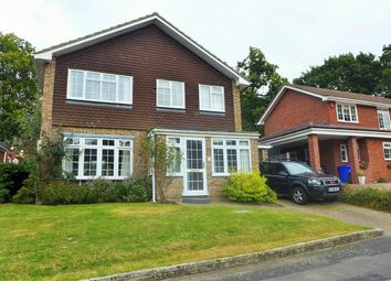 Thumbnail 4 bed detached house to rent in Beechwood Close, Church Crookham, Fleet