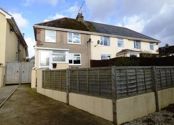 Thumbnail 3 bed semi-detached house for sale in Clifford Avenue, Kingsteignton, Newton Abbot