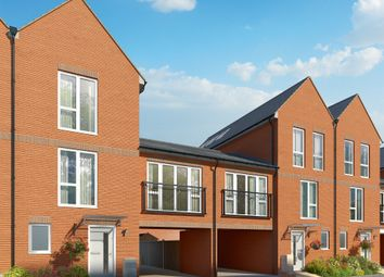 "Thumbnail 4 bedroom terraced house for sale in ""The Filbert "" at Connolly Way, Chichester"