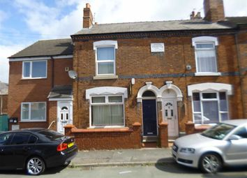 Thumbnail 2 bed terraced house to rent in Elizabeth Street, Crewe, Cheshire