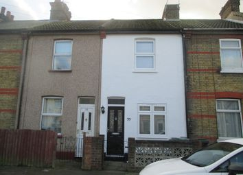 Thumbnail 2 bed terraced house to rent in Nelson Road, Northfleet, Gravesend