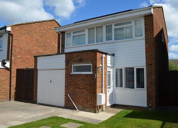 Thumbnail 4 bedroom detached house for sale in Eliot Road, Royston