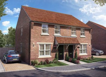 Thumbnail 3 bed semi-detached house for sale in Hamble Rise, Swanmore, Southampton