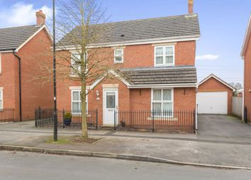 Thumbnail 4 bedroom detached house for sale in Thresher Drive, Swindon