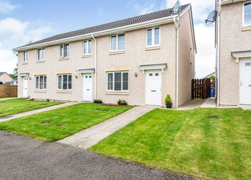 Thumbnail 3 bed end terrace house for sale in Doocot Court, Elgin, Moray