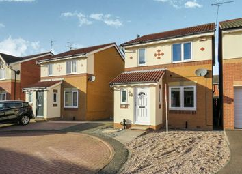 Thumbnail 3 bedroom detached house for sale in Bleasby Close, Leicester