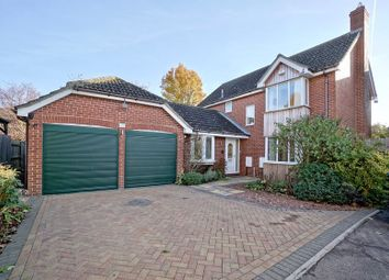 Thumbnail 4 bedroom detached house for sale in Sapley Road, Huntingdon, Cambridgeshire.