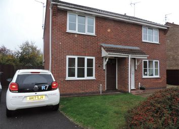 Thumbnail 2 bed semi-detached house to rent in Wetherby Close, Bourne, Lincolnshire