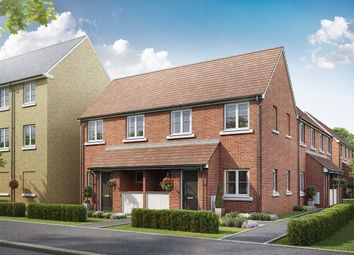 "Thumbnail 1 bed terraced house for sale in ""The Aster "" at Bellona Drive, Peterborough"
