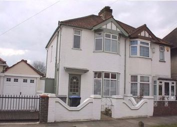 Thumbnail 3 bedroom semi-detached house to rent in Rugby Avenue, Wembley