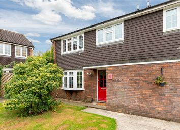 Thumbnail 3 bed end terrace house for sale in Jason Close, Weybridge, Surrey