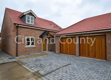 Thumbnail 4 bed detached house for sale in Eastlands, Crowland, Peterborough