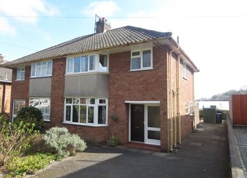 Thumbnail 3 bed semi-detached house for sale in Deneside, Newcastle, Staffordshire