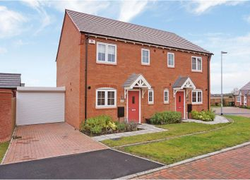 Thumbnail 2 bed semi-detached house for sale in Treadway Close, Worcester