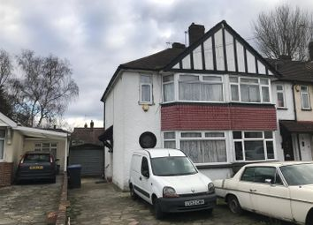 Thumbnail 2 bed end terrace house for sale in Curzon Avenue, Ponders End, Enfield