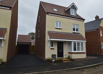 Thumbnail 4 bed detached house to rent in Pewit Close, Bowbrook Meadows, Shrewsbury
