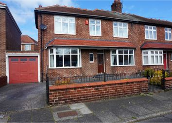 Thumbnail 3 bed semi-detached house for sale in Spring Gardens, North Shields