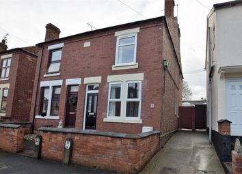 Thumbnail 2 bed semi-detached house for sale in Clement Road, Horsley Woodhouse, Ilkeston, Derbyshire