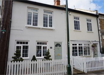 Thumbnail 3 bed terraced house to rent in Wick Road, Teddington