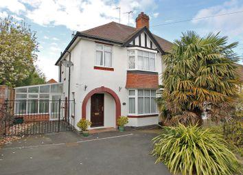 Thumbnail 3 bed semi-detached house for sale in Littlegreen Road, Woodthorpe, Nottingham