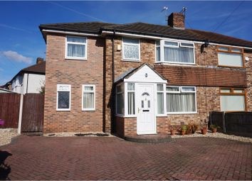 Thumbnail 5 bedroom semi-detached house for sale in Leafield Road, Liverpool