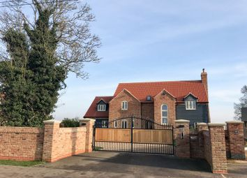 Thumbnail 5 bedroom detached house for sale in Murrow Bank, Murrow, Parson Drove, Wisbech