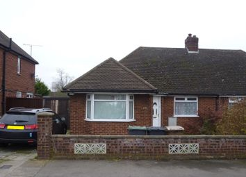 Thumbnail 3 bed semi-detached bungalow for sale in Faringdon Road, Luton