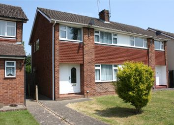 Thumbnail 3 bed semi-detached house to rent in Fairwater Drive, Woodley, Reading, Berkshire