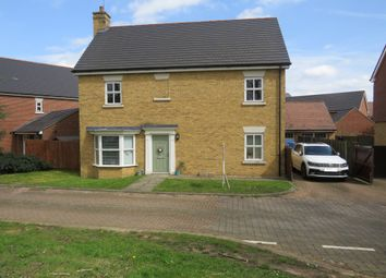 Thumbnail 4 bed detached house for sale in Hopcrofts Meadow, Redhouse Park, Milton Keynes